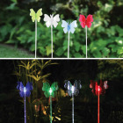Alpine Solaris Rotating Plastic Butterfly 33.75 In. H. Solar Stake Light Image 2