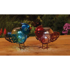 Outdoor Expressions 6 In. W.x 7.5 In. H. x 10 In. D. Bird Solar Light Image 4