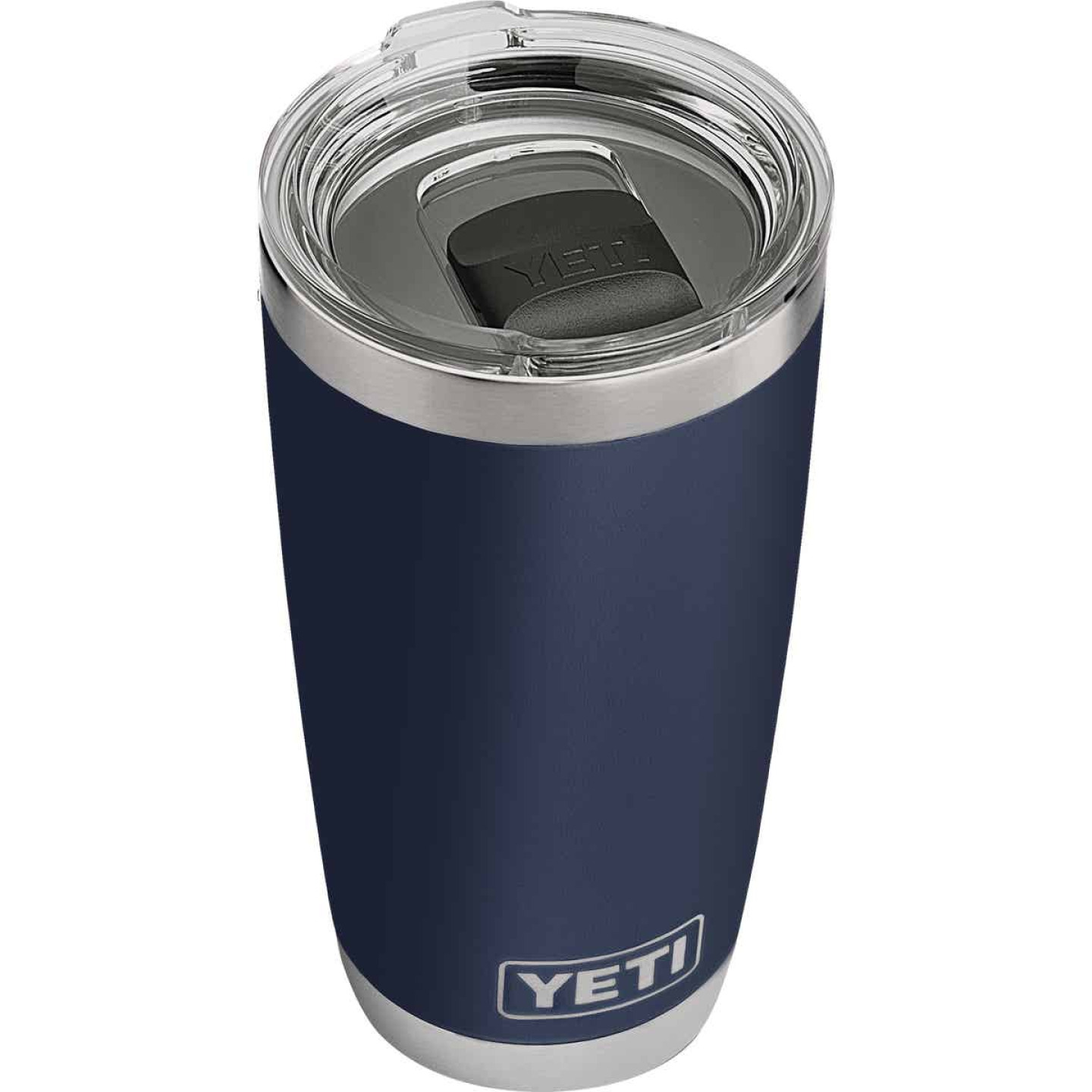 Yeti Rambler 20 Oz. Navy Blue Stainless Steel Insulated Tumbler with MagSlider Lid Image 1