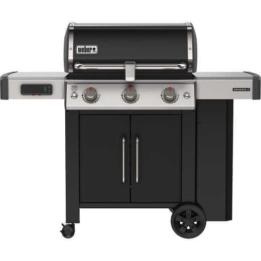 Weber Genesis II Smart Grill EX-315 3-Burner Black 39,000 BTU LP Gas Grill