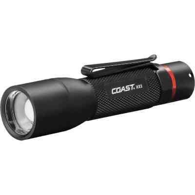 Coast Black LED Dual Flashlight
