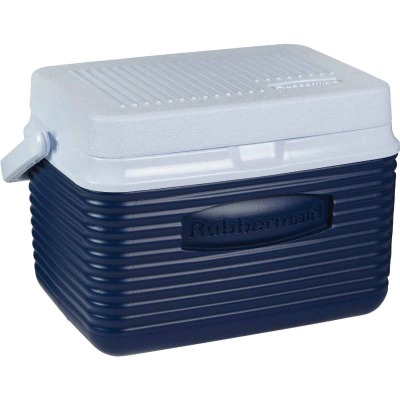 Rubbermaid 5 Qt. Personal Cooler, Blue