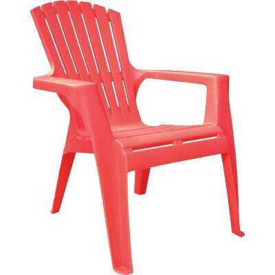 Adams Kids Red Resin Adirondack Chair