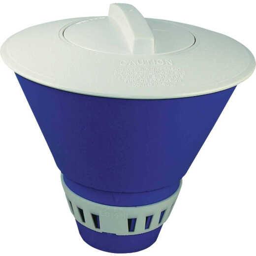 JED Pool 1.1 Lb. Adjustable Floating Chlorine Chemical Dispenser