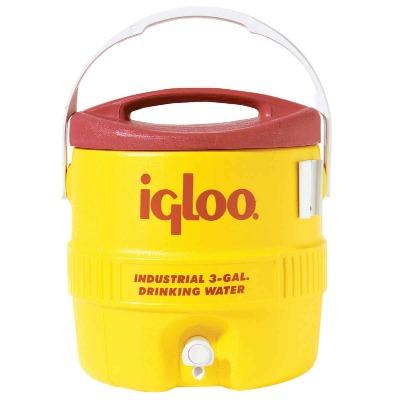 Igloo 3 Gal. Yellow Industrial Water Jug